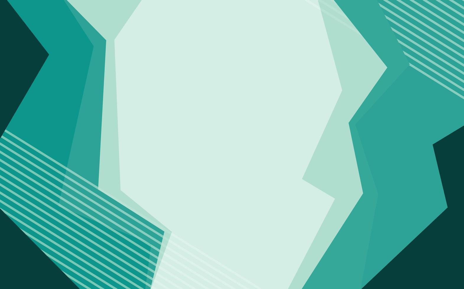Hintergrunddesign mit abstrakten Mustern in Grün vektor