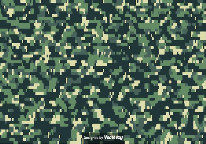 Pixeled MULTICAM Camouflage Muster Vektor
