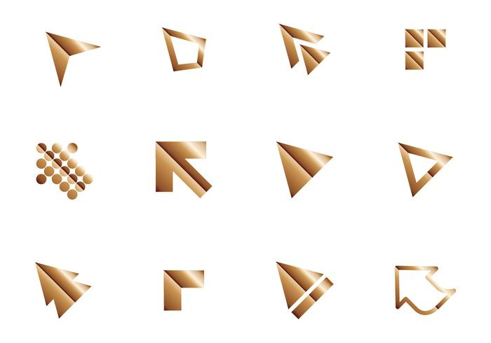 Free Shiny Maus Zeiger Icon Vektor