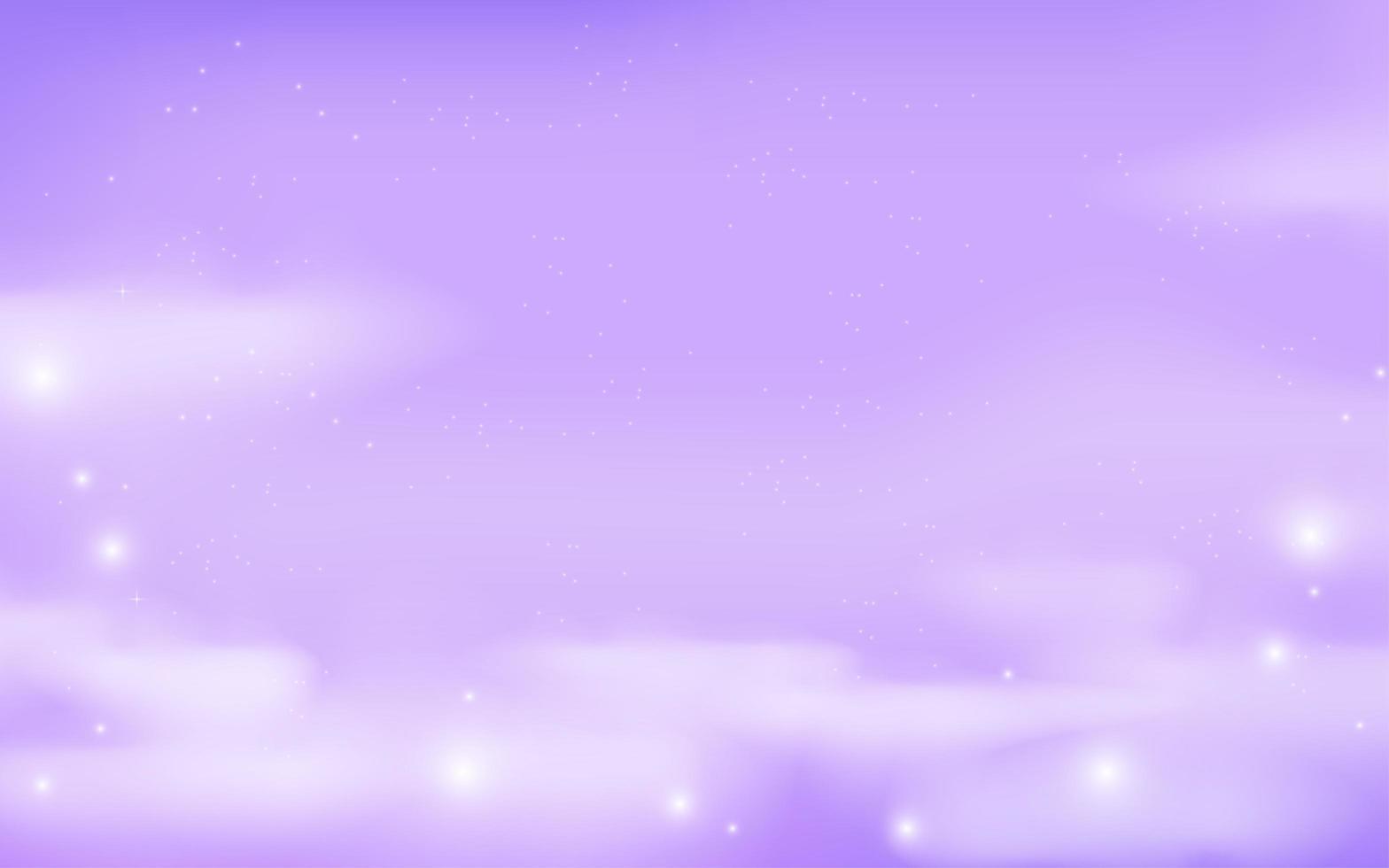 fantasy galax i lila färger vektor