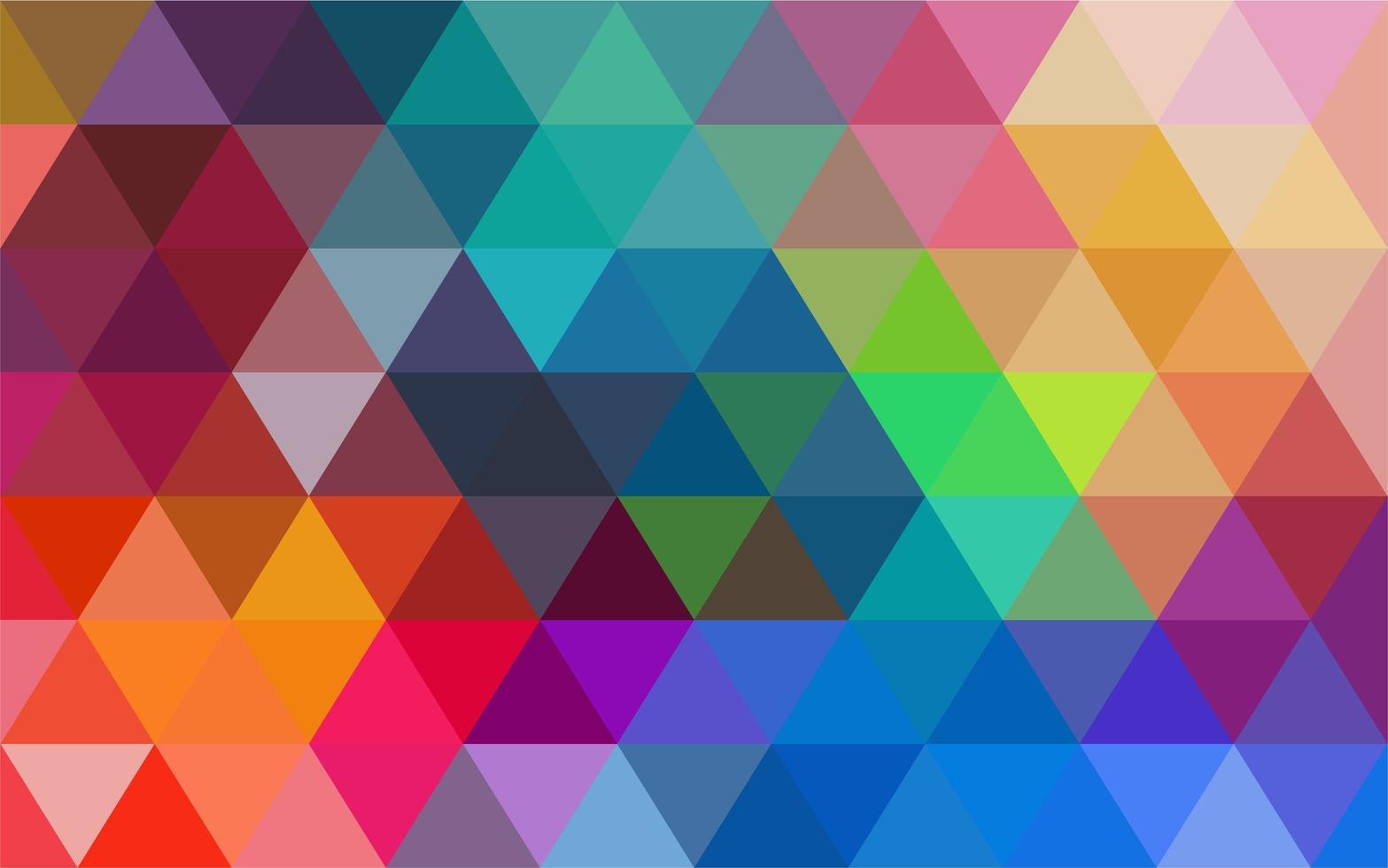 mångfärgad mosaikbakgrund vektor
