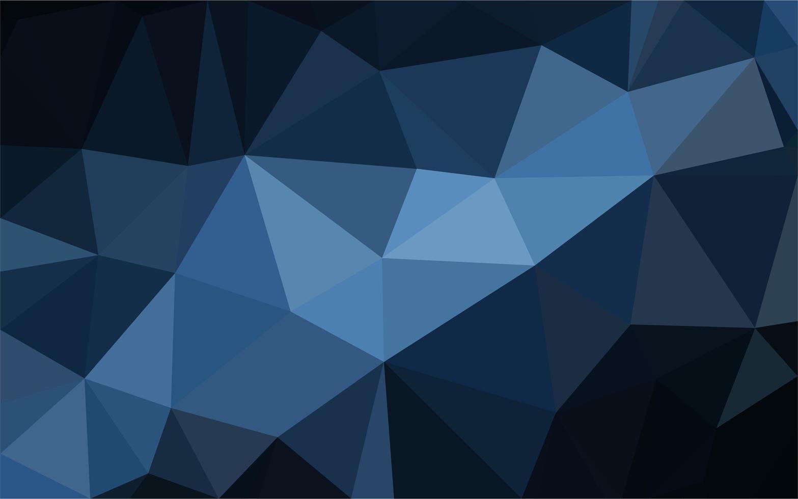 blå polygonal bakgrund vektor