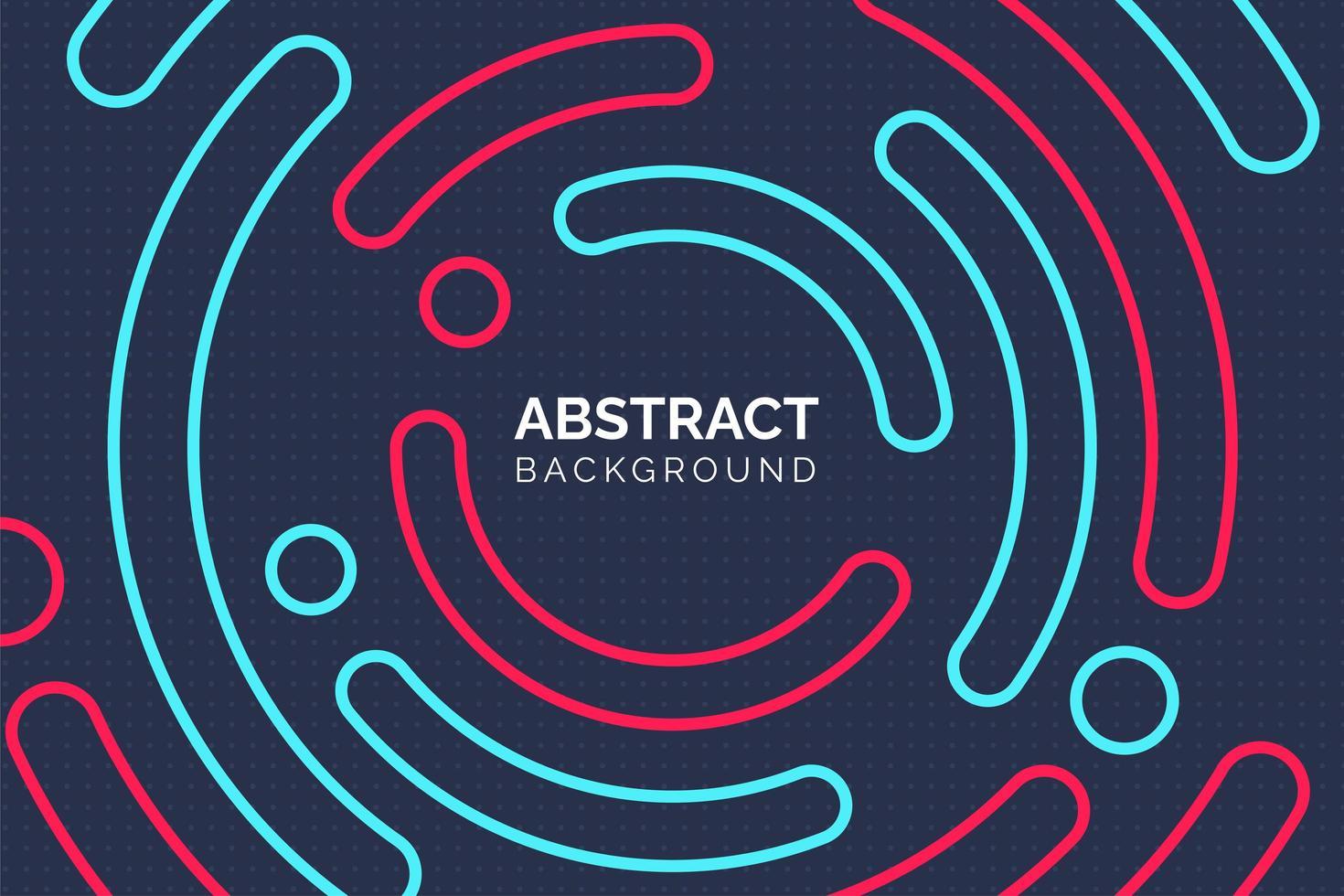 modern abstrakt färgglad cirkelbakgrund vektor