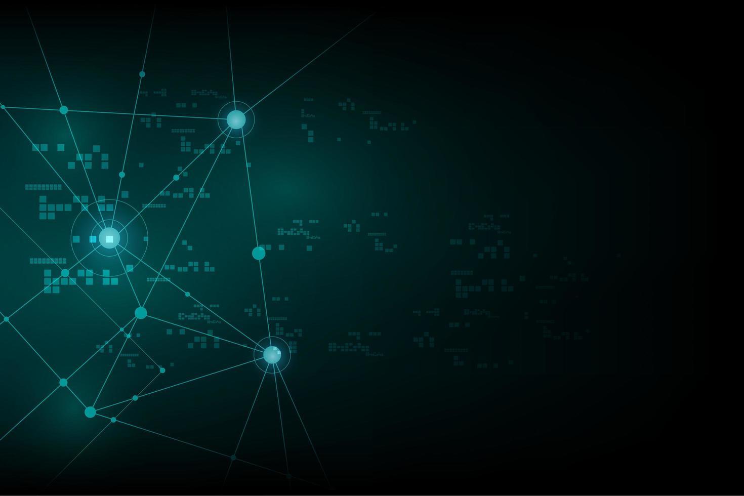Design von Internet-Netzwerksignalen vektor