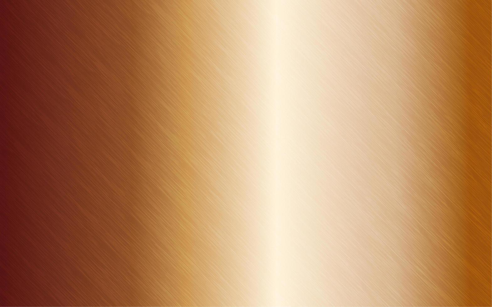 Gold- oder Kupfermetallstruktur vektor
