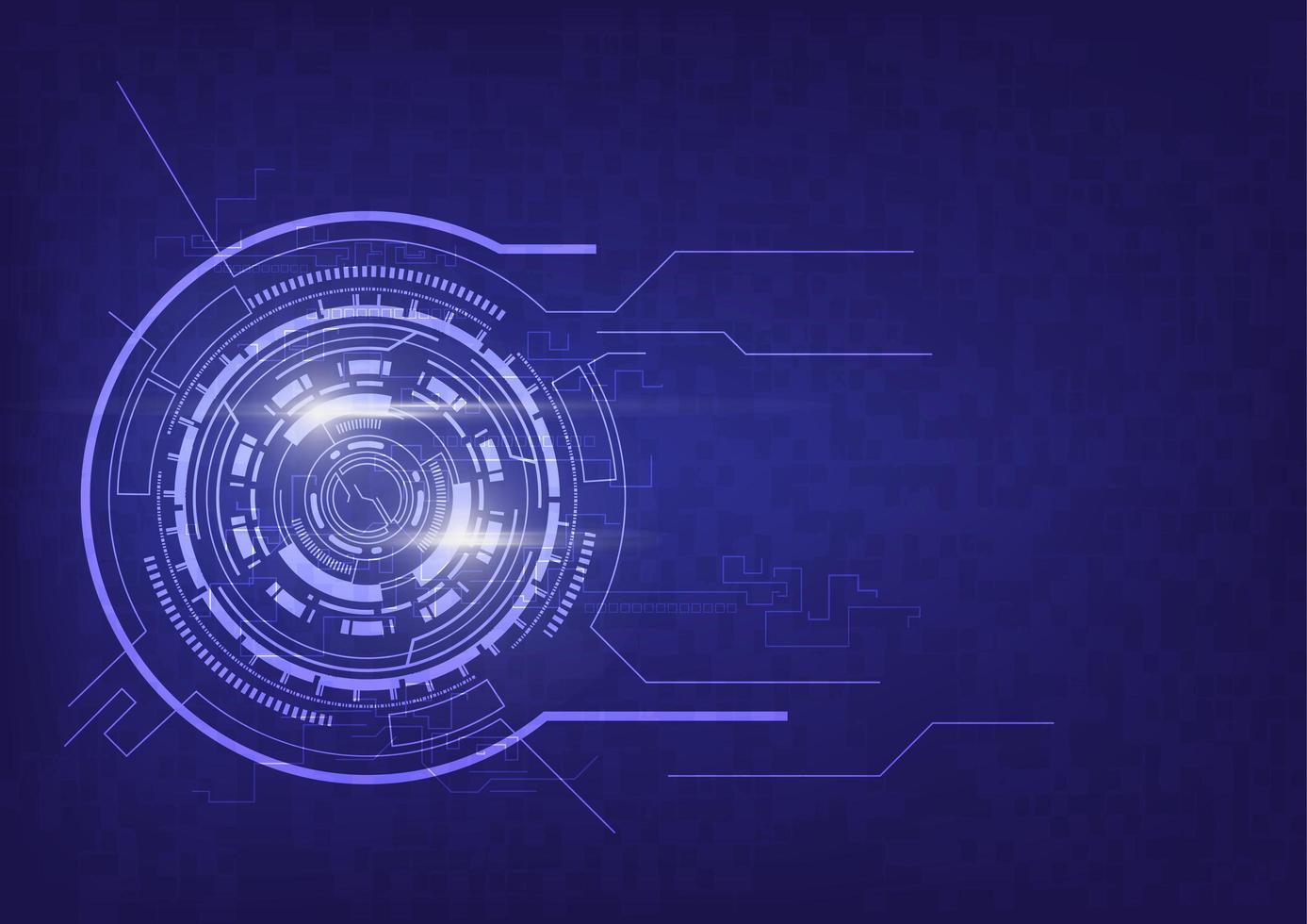 lila abstrakt teknik kommunikation koncept vektor