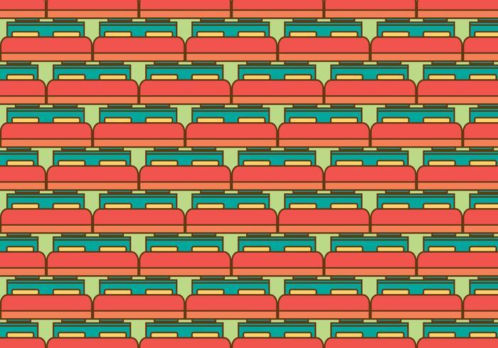 Kostenlose Matratze Vektor Muster Illustration