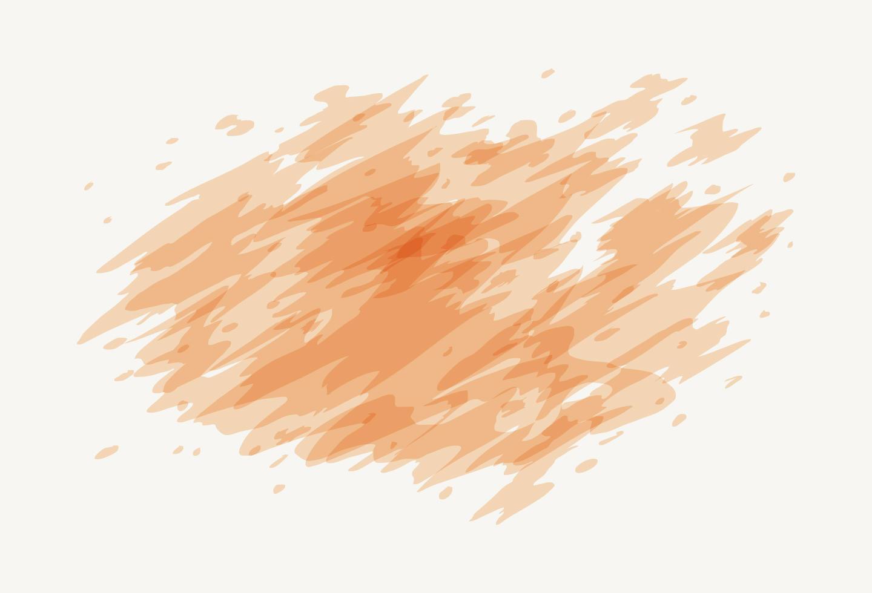 Pastellpfirsich Aquarell Hintergrundvektor vektor
