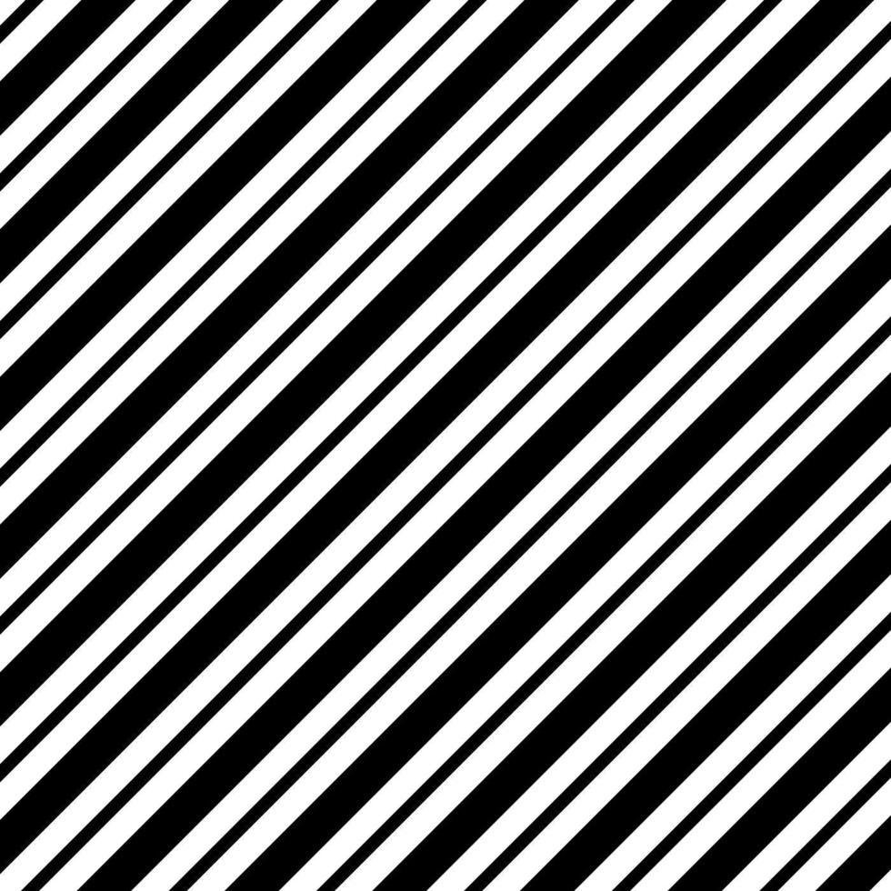nahtloser Streifenmustervektor des Schwarzweiss vektor