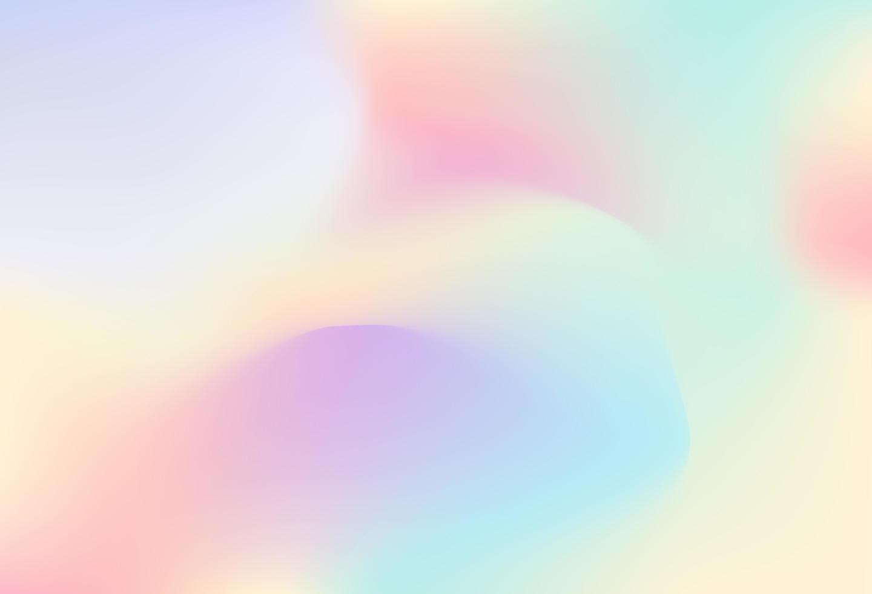 bunter holographischer Gradientenhintergrundentwurf vektor