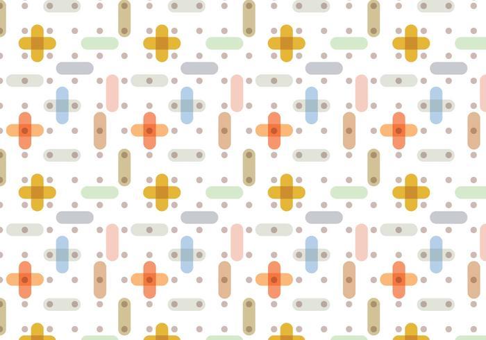 Transparenz Geometrisches Muster vektor