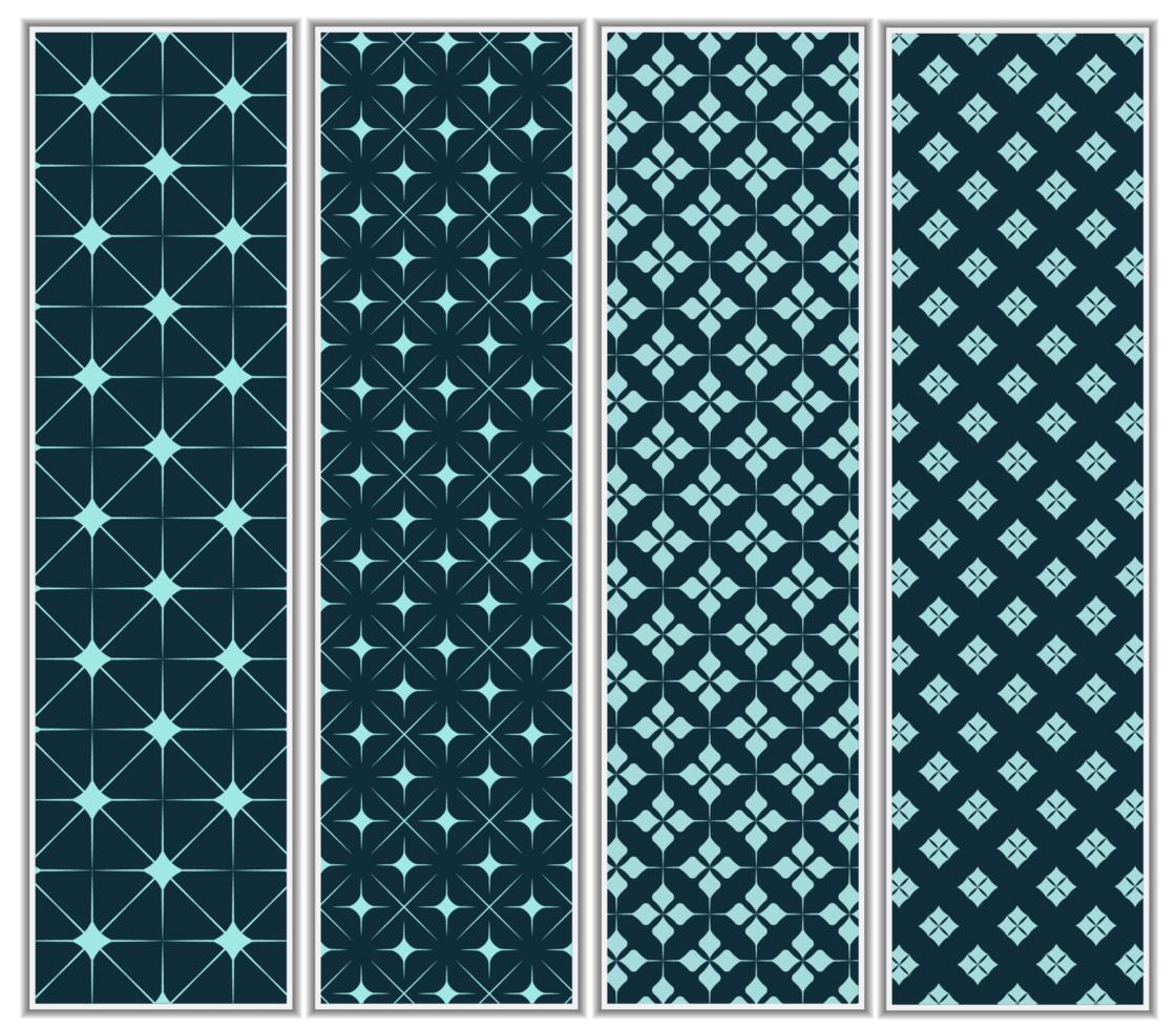 stjärna halvton mönsteruppsättning vektor