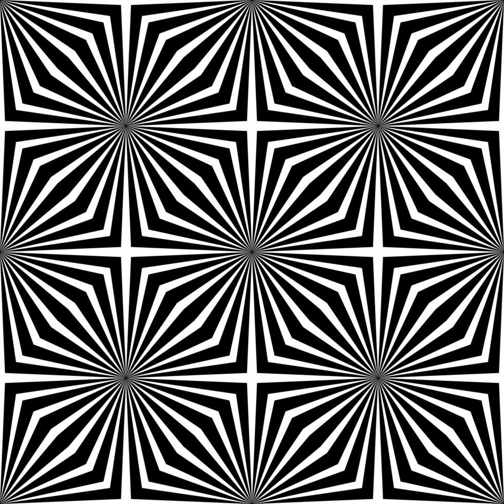 svartvit abstrakt geometrisk bakgrund vektor