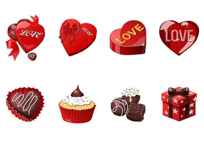 Liebe und Valentinstag Icon Vector Pack