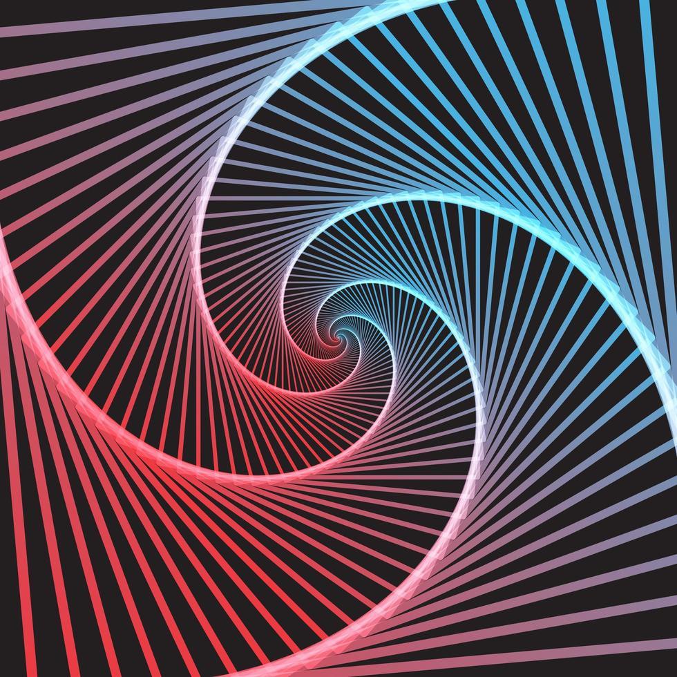 Hintergrund der optischen Täuschung der abstrakten Farbe vektor