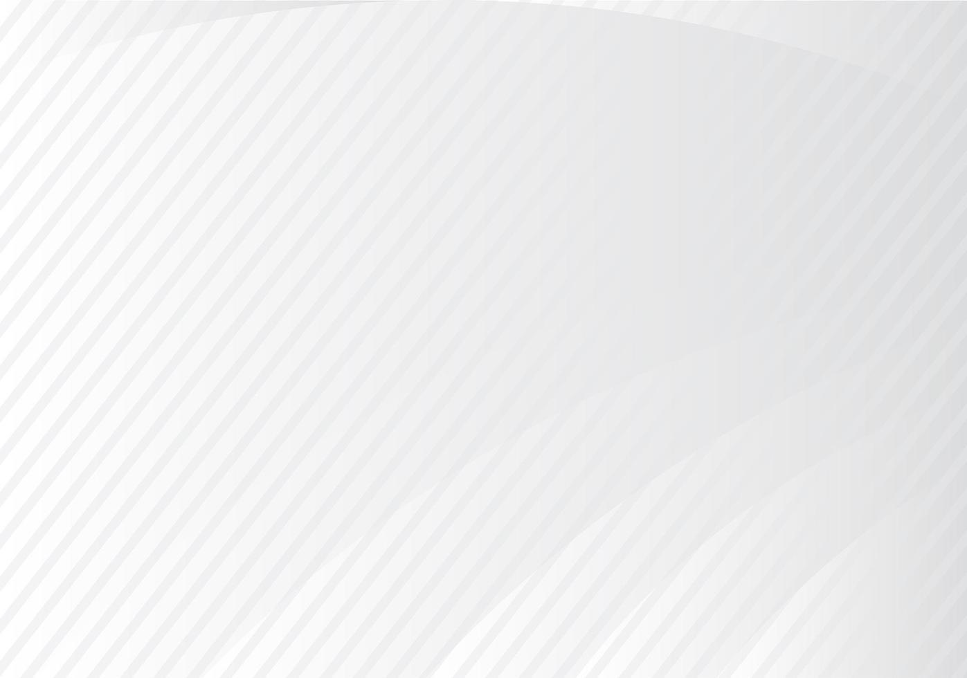 graue Verlaufskurve und Winkelstreifendesign vektor