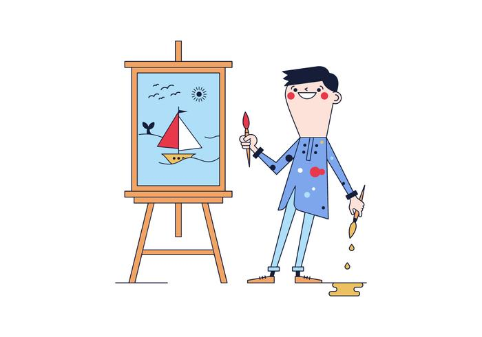 Gratis Artist Vector