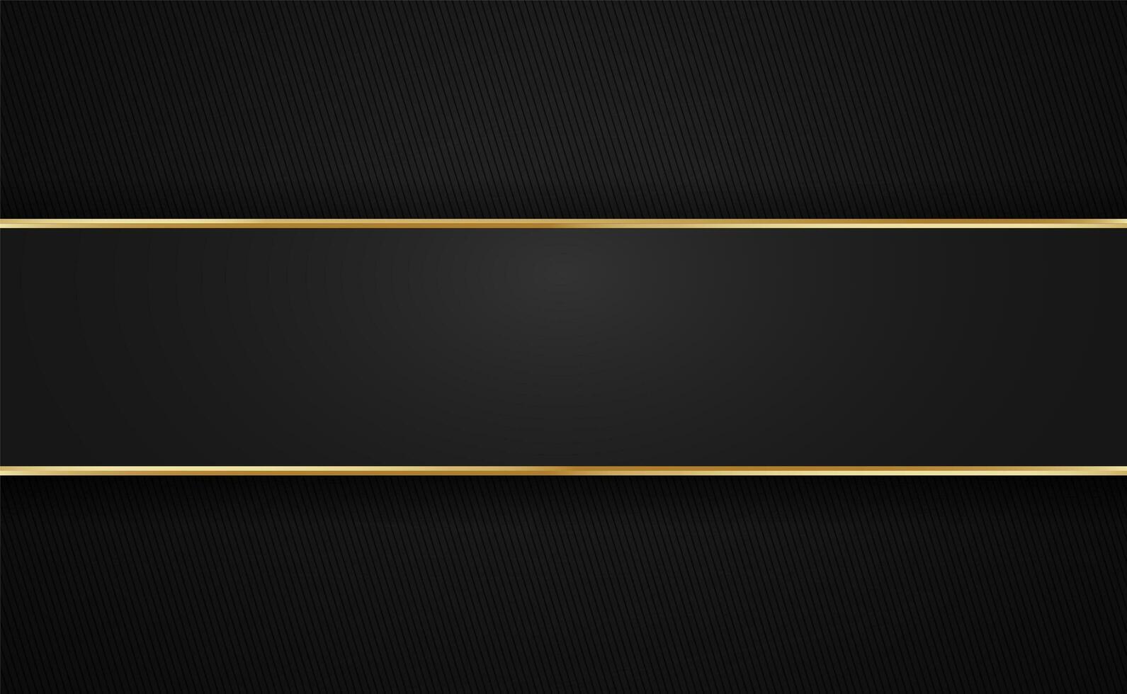 gyllene rand kantar med mörka vinklade ränder vektor