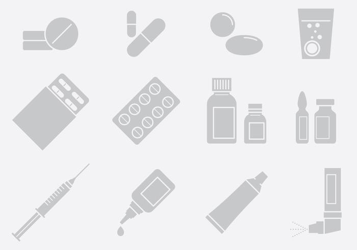 Medicin och tillämpningar vektor