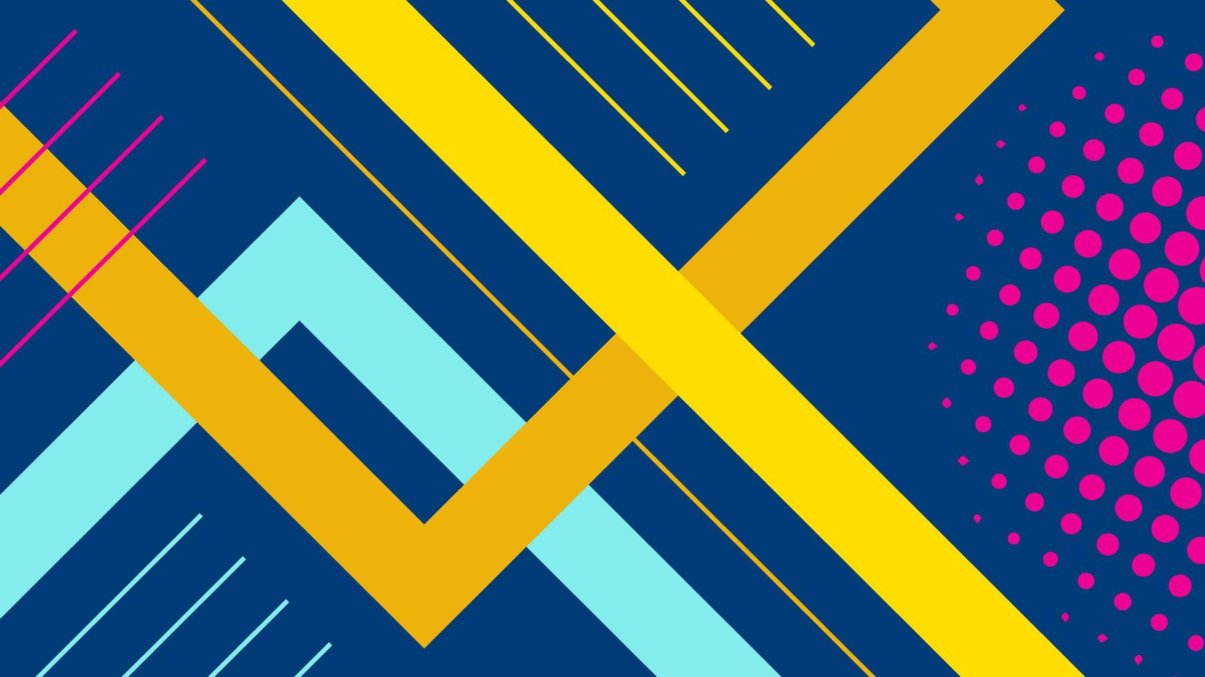 abstrakt minimal platt geometrisk bakgrund vektor
