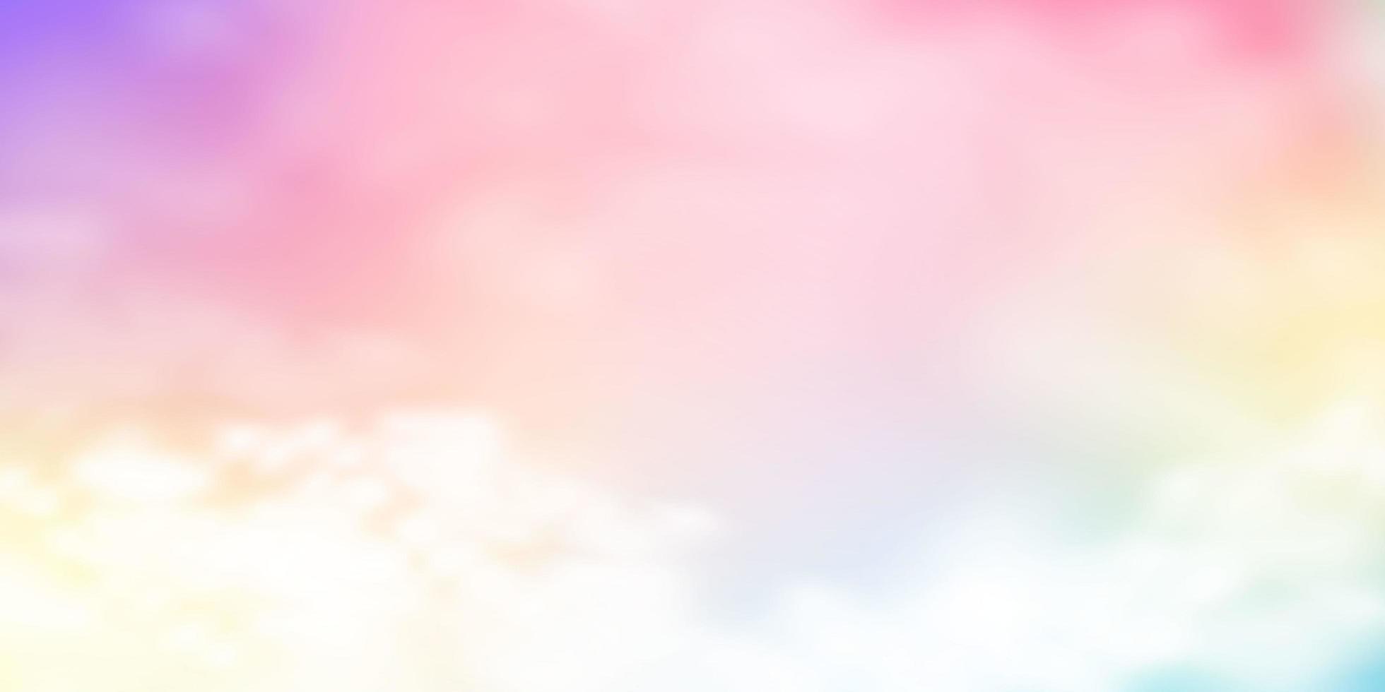 mjuk pastell molnig himmel vektor