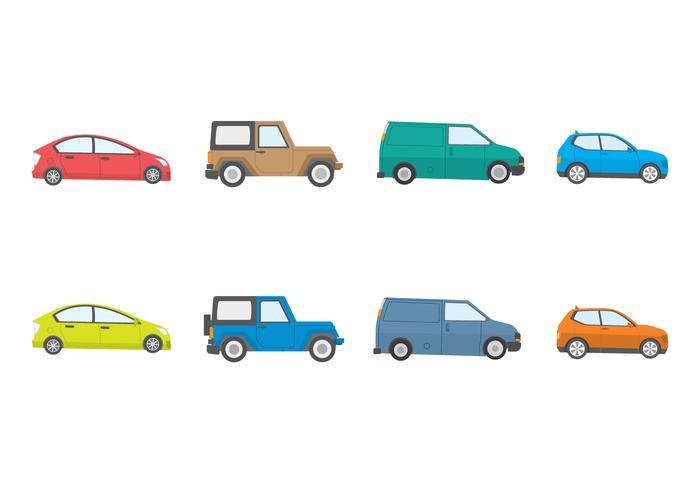Freie Autos Vektor