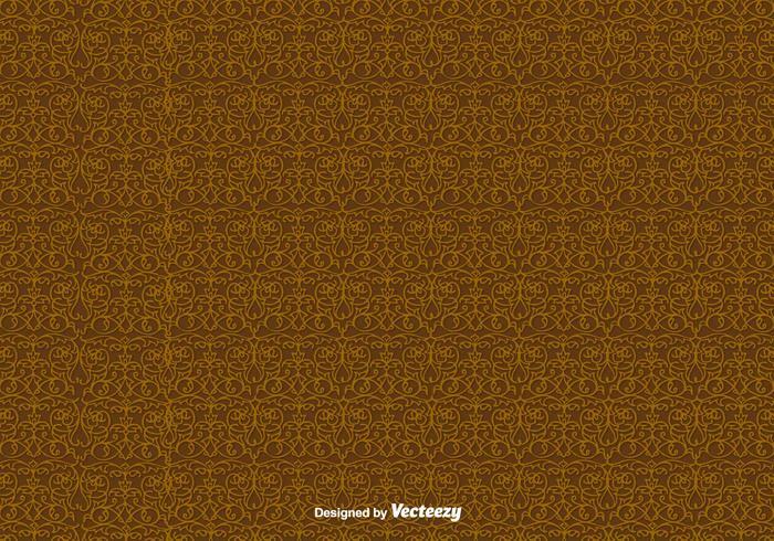 Elegantes Scrollwork-Vektor-Muster vektor