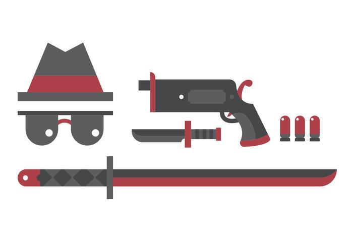 Yakuza Vektor Set