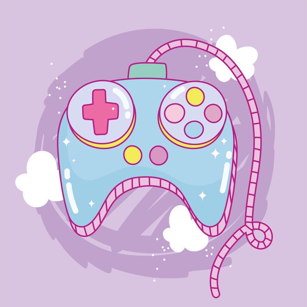 Videospielsteuerung Unterhaltungs-Gadget-Gerät elektronisch vektor