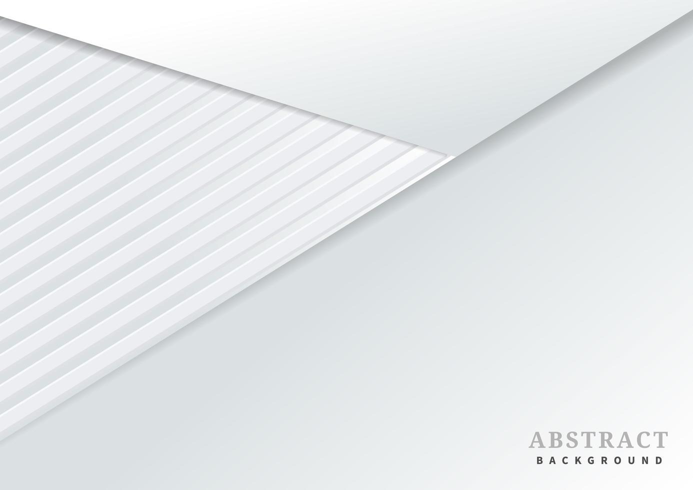 vinklad design med vitt papperslager vektor