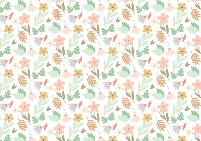 Blommig vektor mönster