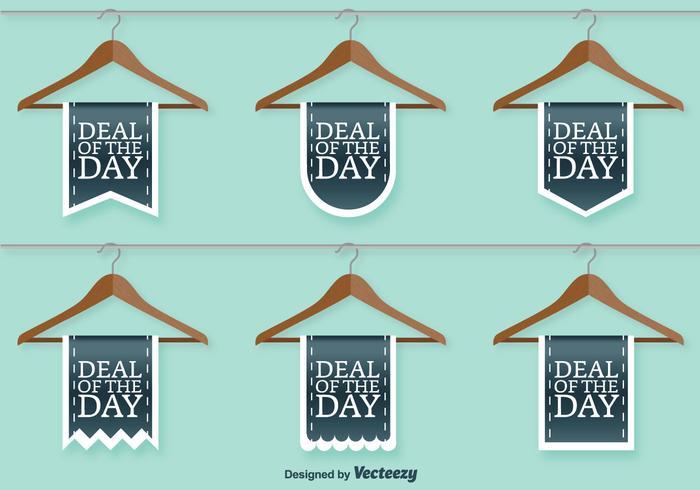 Kleidung Shop Verkauf Vector Zeichen