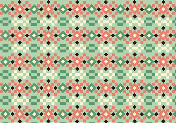Kvadratisk pastellmönster vektor