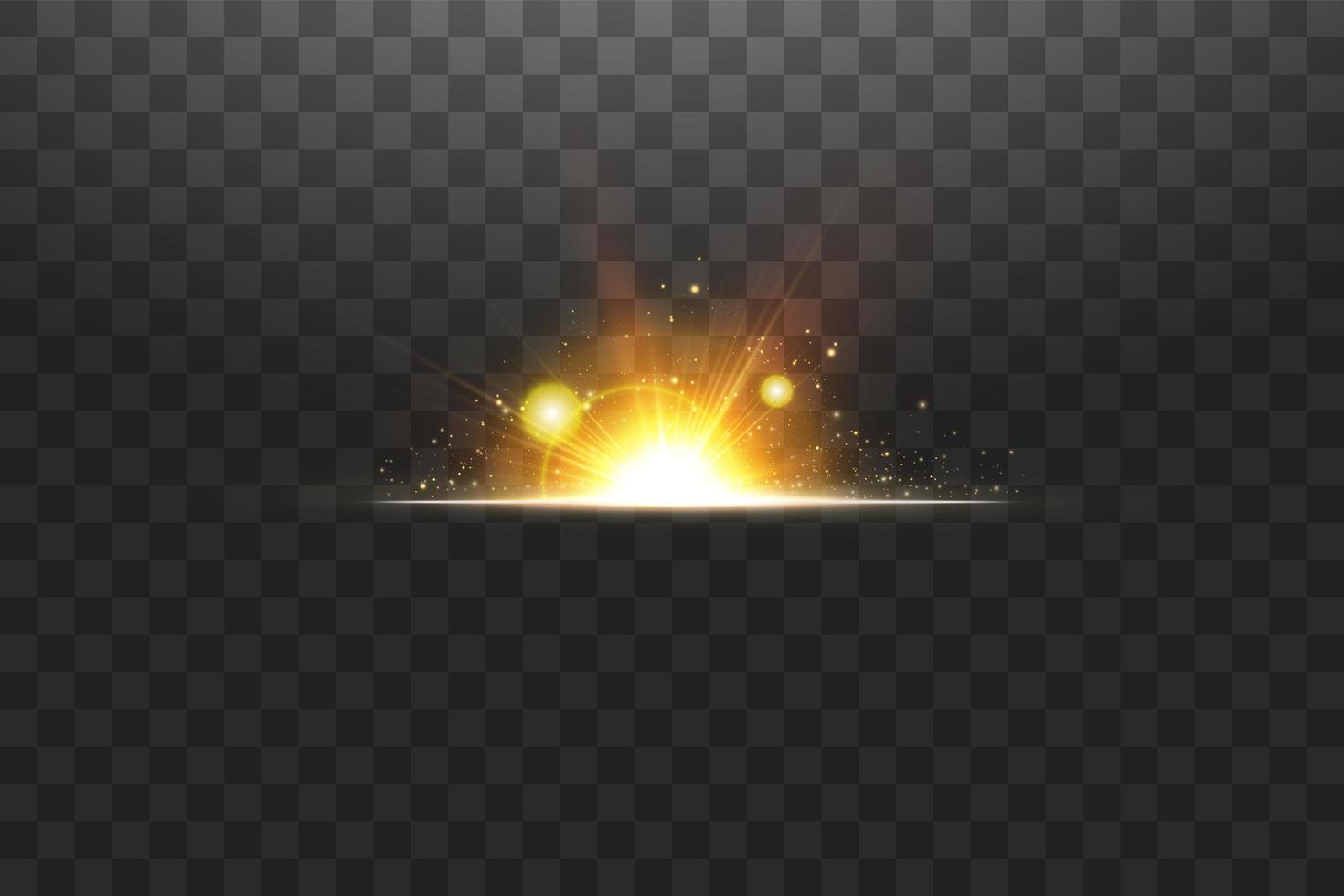 lysande gyllene stjärnor vektor