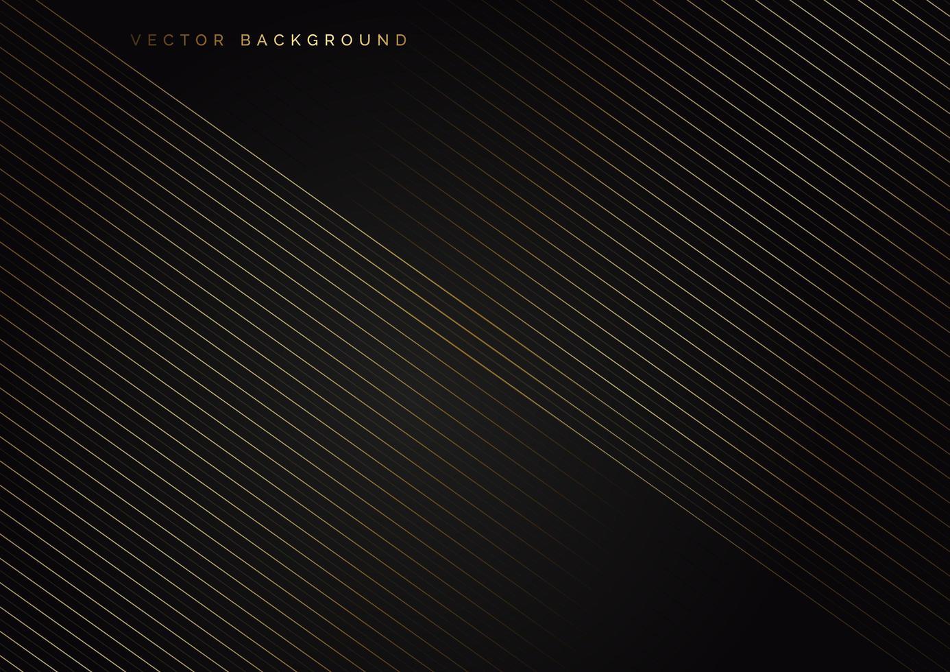 goldene Linien diagonal vektor
