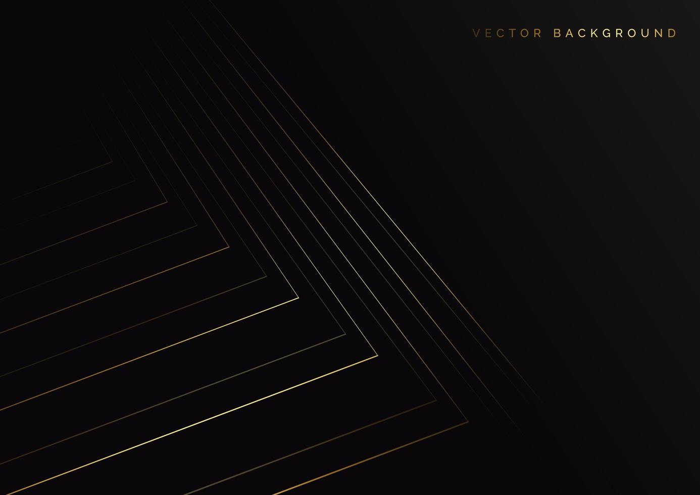 abstrakte Streifen goldene Linien vektor