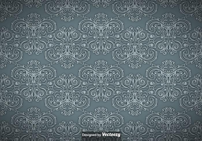 Weinlese-dekoratives nahtloses Muster vektor