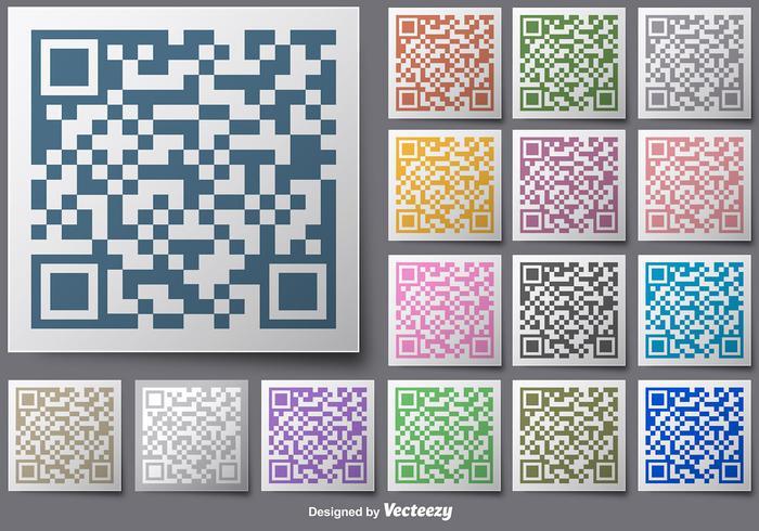 Farbe Für RFID Vektor Schaltflächen