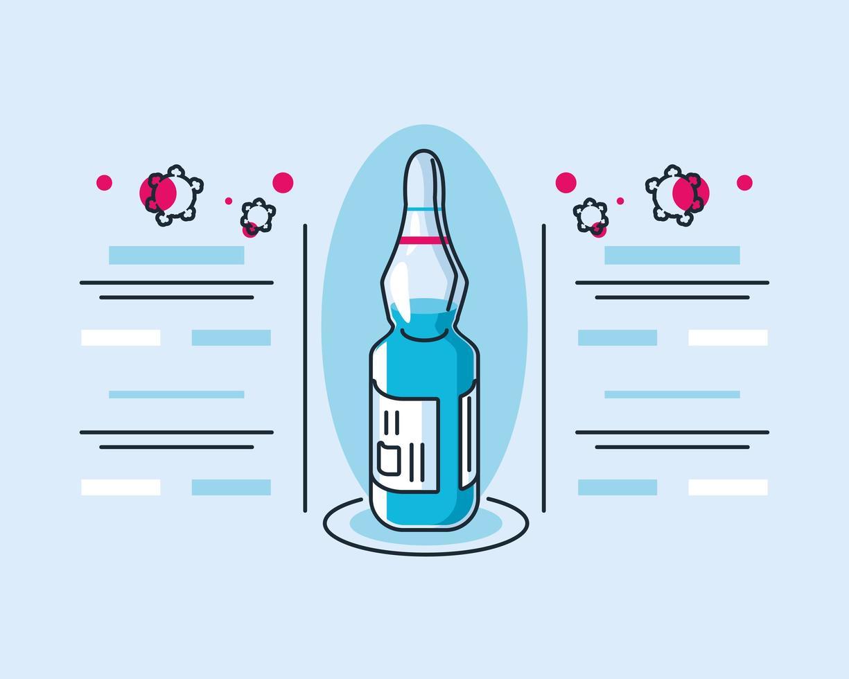 Infografik Mit Impfstoff Und Erforschung Des Coronavirus Symbols Download Kostenlos Vector Clipart Graphics Vektorgrafiken Und Design Vorlagen