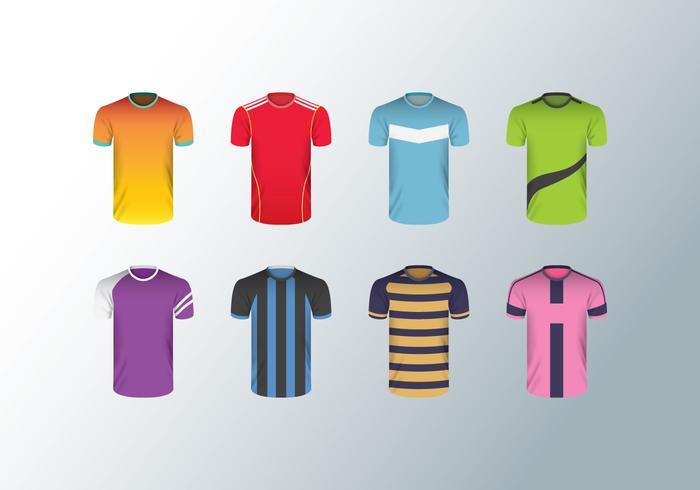 Gratis Fotboll Jersey Vector