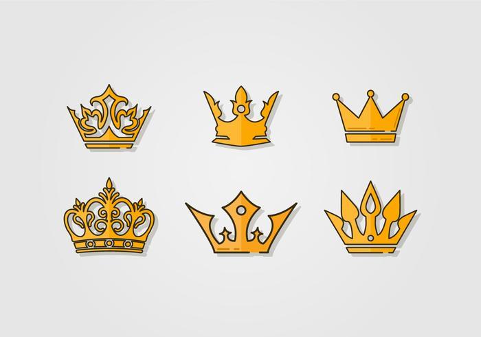 Festzug Luxus Krone vektor