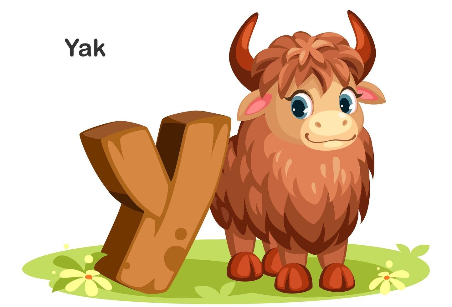 y für yak vektor