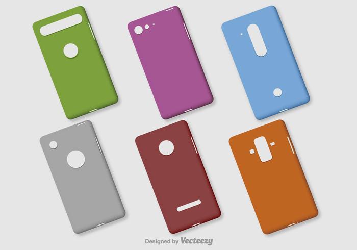 Blank Phone Vector Fällen