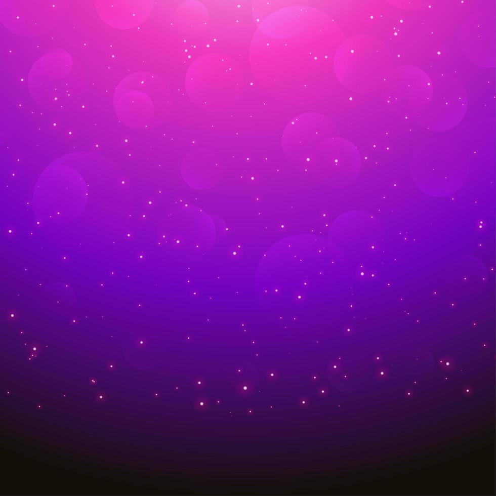 rosa, lila, schwarzer Farbverlauf funkelndes Boke-Design vektor