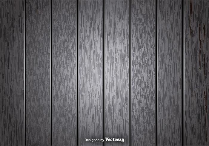 Vector Grau hölzerne Planken Hintergrund