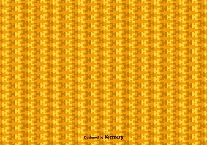 Yellow Incas Geometrisk Vector Mönster