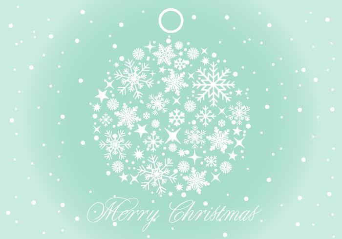 Vektor jul bakgrunds illustration