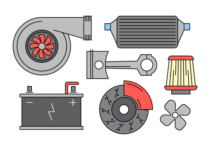 Free Vector Autoteile