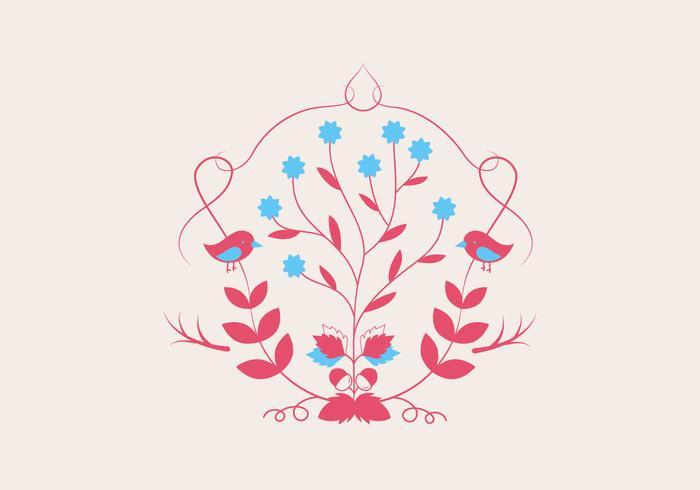 Pflanze Illustration Hintergrund Vektor
