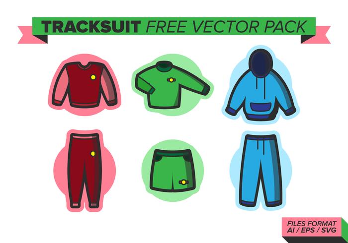 Trainingsanzug Free Vector Pack